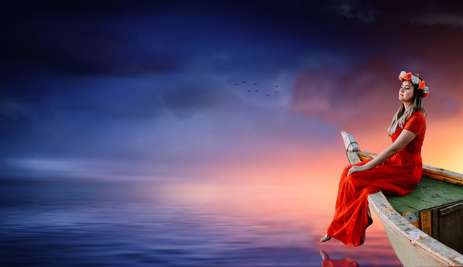 Žena na brodu